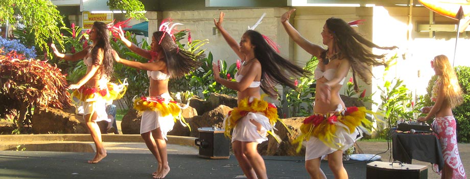 Hula at Poipu Shopping Village