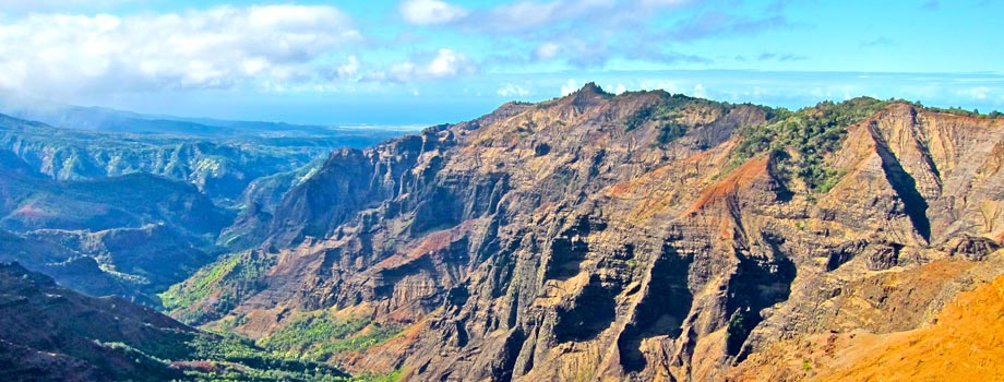 Waimea canyon from one of the lookouts